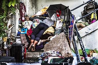 homelessSleep